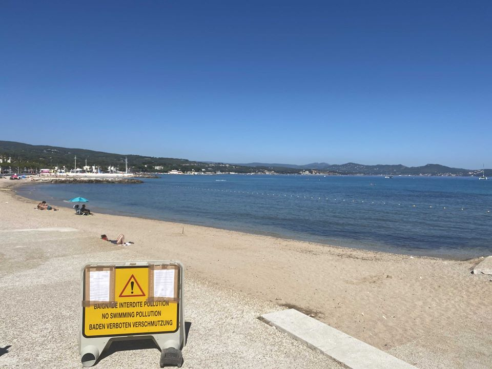 Pollution : à La Ciotat, la plage du Cyrnos est interdite à la baignade