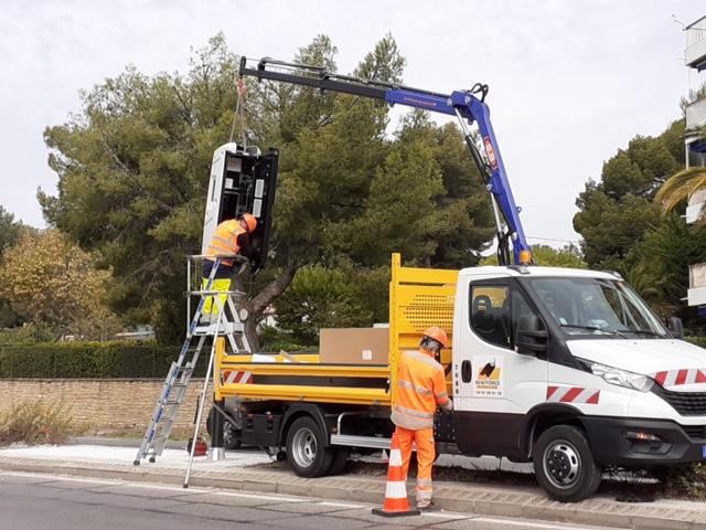 La Ciotat : un radar multi-fonctions fraîchement installé à Fontsainte