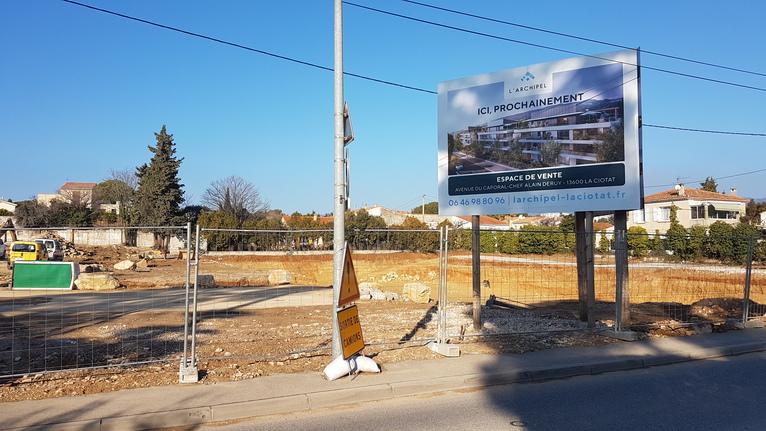 Des habitants inquiets par l'urbanisation de La Ciotat
