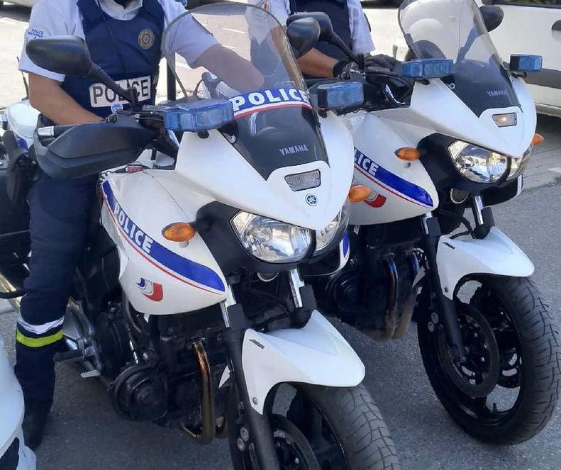 La Ciotat : deux malfaiteurs arrêtés sur un scooter lors d'un contrôle de police