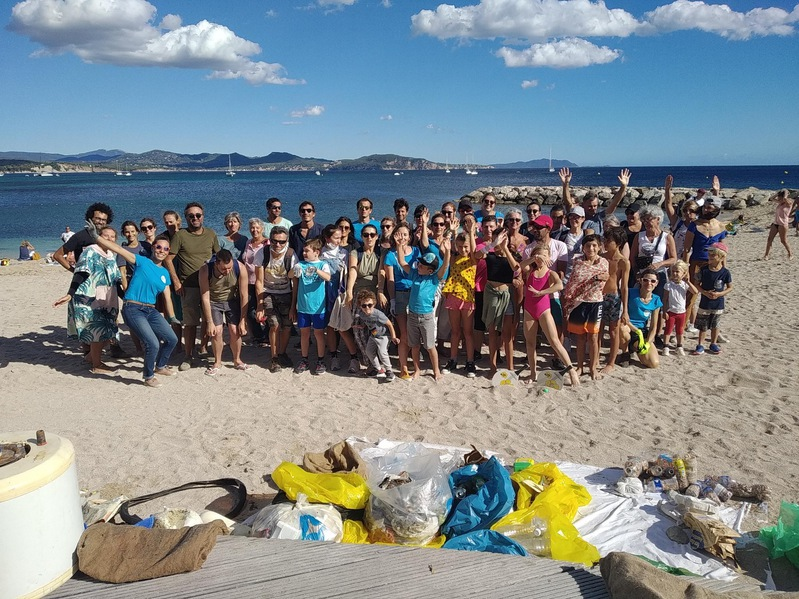 La Ciotat : après la saison estivale, les bénévoles nettoient!