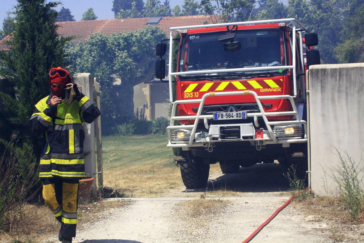 La Ciotat : Départ de feu dans le secteur de Virebelle