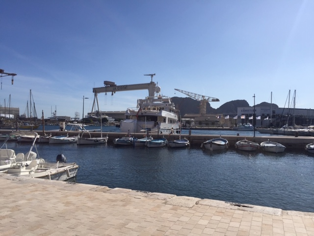 La Ciotat : enquête portant sur l'impact environnemental d'un ascenseur pour méga-yacht