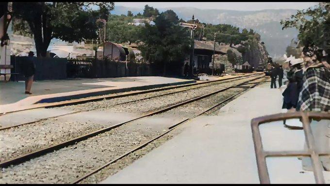 La Ciotat : l'arrivée d'un train en gare liftée grâce à l'IA