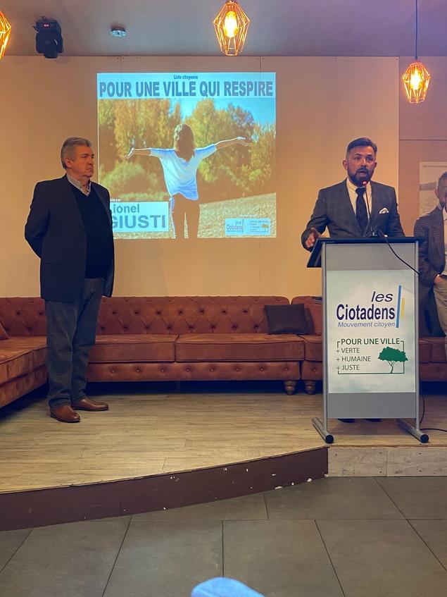 Municipales : Lionel Giusti dévoile son programme pour La Ciotat