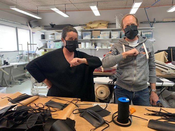 La Ciotat : ils se sont mis à fabriquer des masques